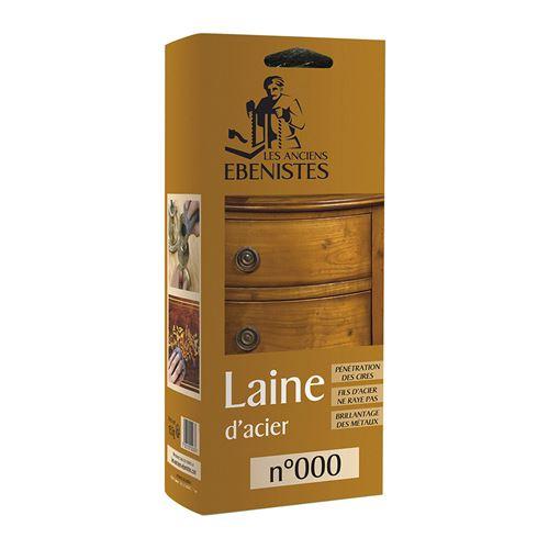 Laine D'acier N°000 150g - Les Anciens ébénistes