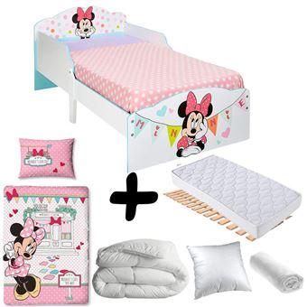 Bebegavroche Pack Complet Premium Lit Banderole Minnie Mouse Disney