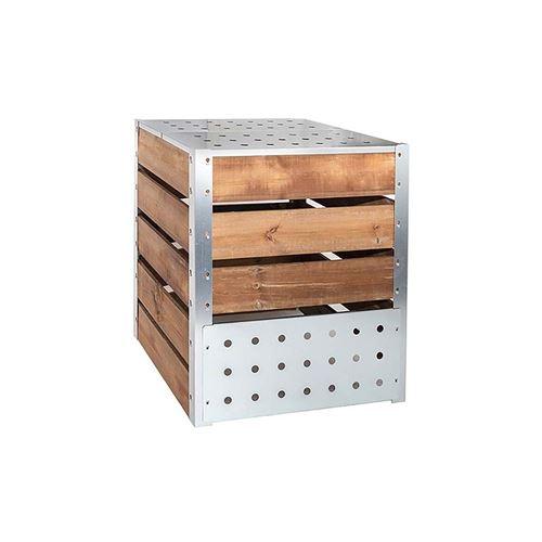 Guillouard - Silo à compost acier et bois 470L