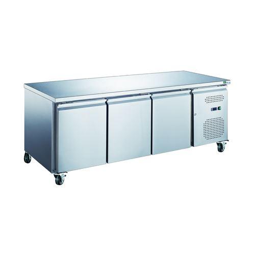 Table 339 Litres rfrigre 3 portes inox