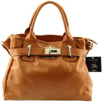 sac a main femme marron