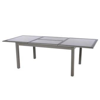 Table Extensible Verre 10 Personnes Azua Mastic Hespéride - Mobilier ...