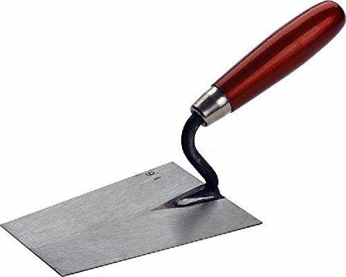 TRIUSO kantige truelle 180 mm avec poignée rouge