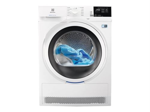 Electrolux PerfectCare 800 EW8HL72W4 - Sèche-linge - indépendant - largeur : 60 cm - profondeur : 60 cm - hauteur : 85 cm - chargement frontal - blanc