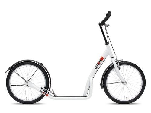 Bike Fun step Marches 20 pouces Unisexe V-Brake Blanc