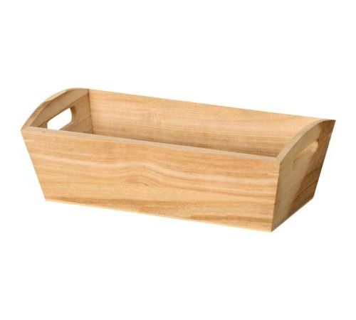 Corbeille en bois Rectangle