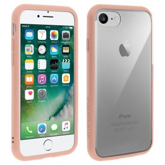 coque iphone 8 rhinoshield rose