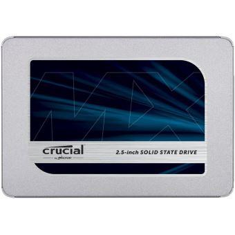 """Disque dur interne SSD Crucial MX500 SATA 2.5"""" 500 Go"""