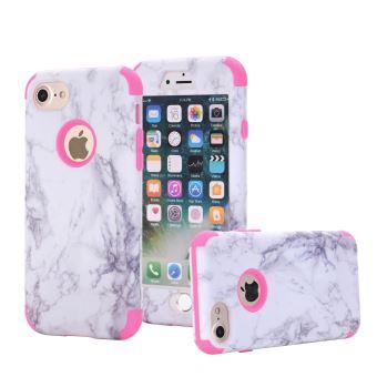 coque iphone 6 marbre rose