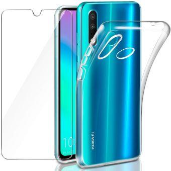 Coque pour Huawei P30 Lite Transparente Verre trempé Protection ...