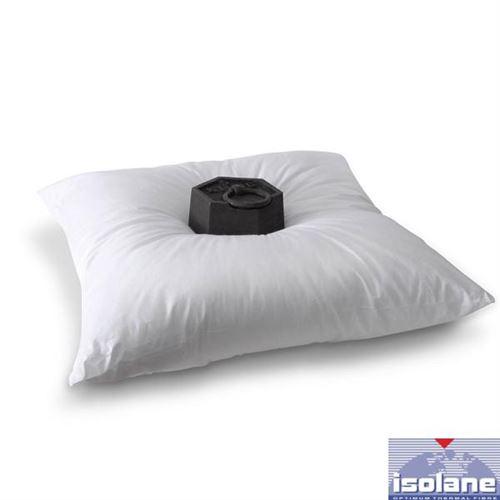 Oreiller Moelleux Volume, 650gr/m², 65x65cm, Enveloppe 100% Coton