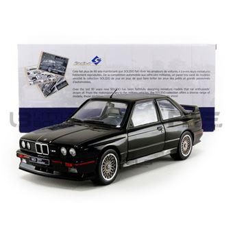 Solido Bmw M3 E30 1990 Voiture Miniature De Collection 1801501 Noir