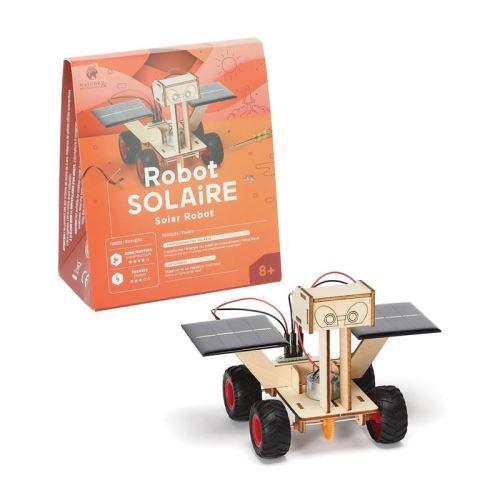 Robot solaire à construire