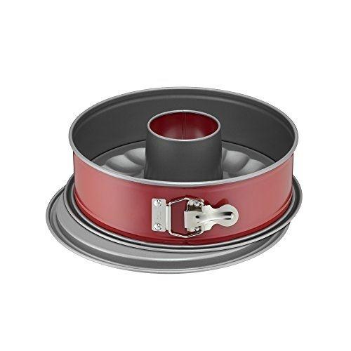 Kaiser moule à charnière classic plus avec cheminée diamètre 26 cm fabriqué en allemagne antiadhésif anti-fuite