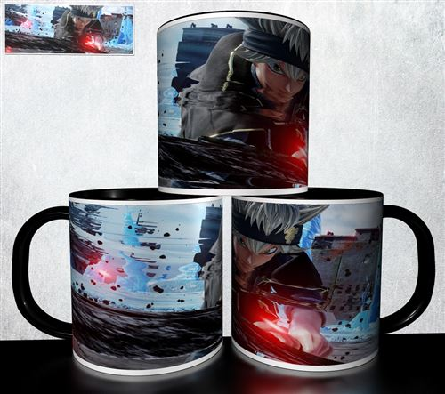 Mug collection design - Black Cover Burakku kuroba 346