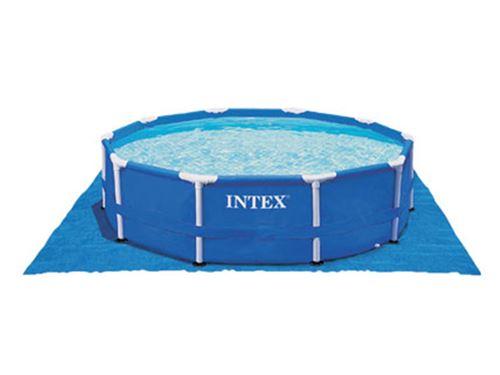 Tapis de sol pour piscine ronde Ø 5,49 m - Intex
