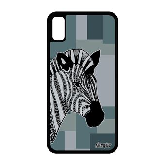 coque iphone xr zebre