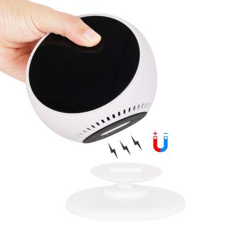 Pour Amazon Echo spot réglable 360 Rotation Support magnétique Support à base de wedazano215