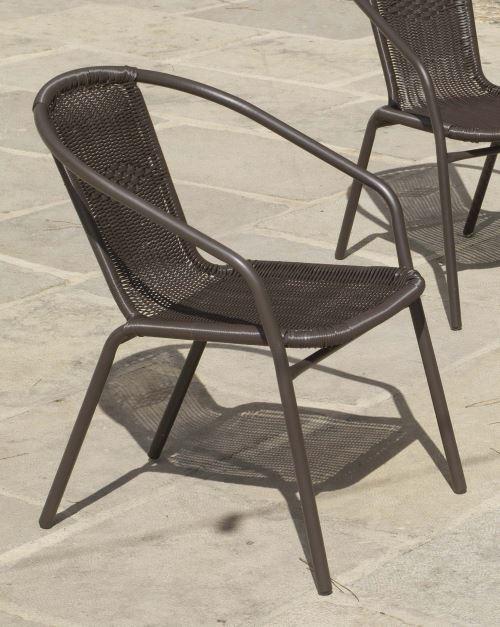 Hevea - Salon de jardin table ronde mosaïque Albir Brasil