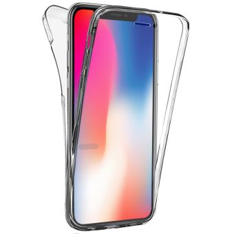coque 360 iphone x silicone