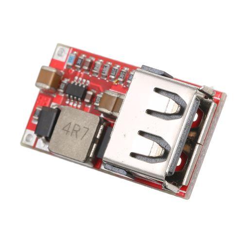 ventilateurs etc. Convertisseur abaisseur de pont complet convertisseur cc//cc usb miniature 12V /à 5V pour alimentations de v/éhicules