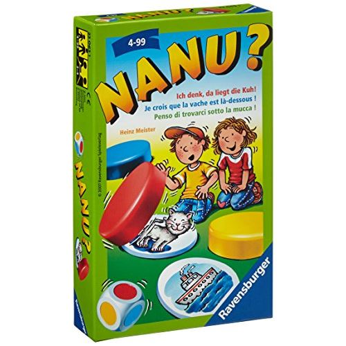 Ravensburger Spieleverlag RAV23063 Nanu Card Game