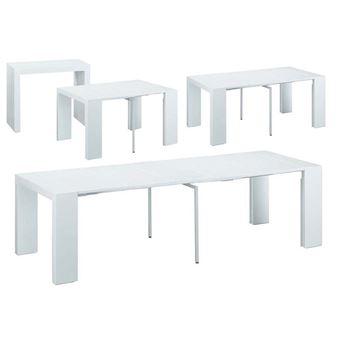 Elsa 94 Cm 50300 Table 75 Blanc Console Extensible X rtsdCxBhQ