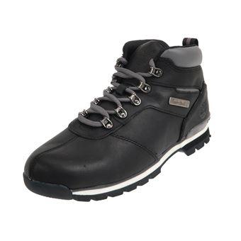 Chaussures Noir Cuir Splitrock Timberland Taille Montantes Black 29IWEDH
