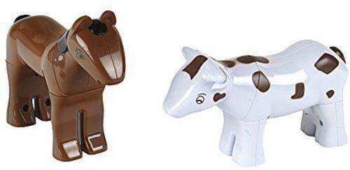 Klein dierenpuzzel 3D avec des aimants Cheval et vache 8 pièces
