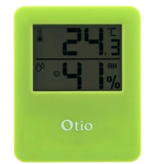 Otio thermomètre/hygromètre magnétique pour vert intérieur