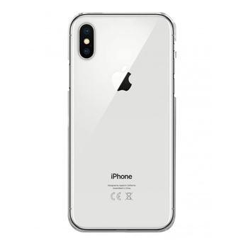 Coque rigide transparente pour Apple iPhone X [Evetane®]