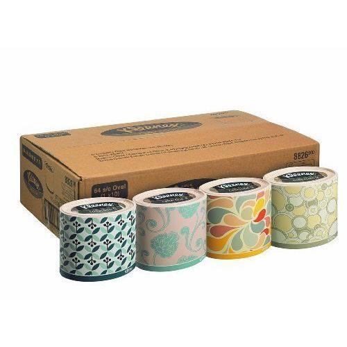 Mouchoir KLEENEX - Ovale / Blanc - carton de 10 Boites de 64 Mouchoirs