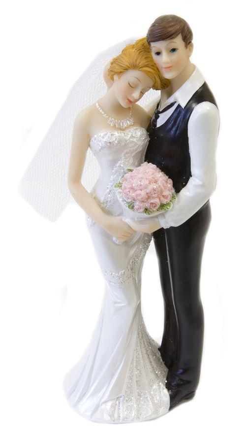 Couple mariés Tendresse - 15 cm