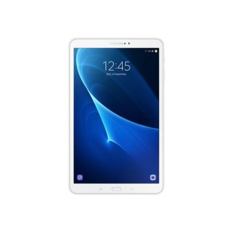 "Samsung Galaxy Tab A (2016) - Tablet - Android 6.0 (Marshmallow) - 32 GB - 10.1"" TFT (1920 x 1200) - microSD sleuf - 4G - LTE - wit"