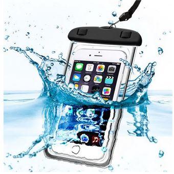 Sac Waterproof Noir pour APPLE IPHONE X 8 PLUS 8 7 PLUS 7 6 PLUS 6S PLUS 6 6S 5 5S SE 4 4S … - Coque Housse Etui Universel Boitier Pochette Lumineux ...