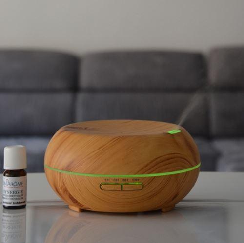Diffuseur ultrasonique woody - marron
