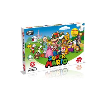 Puzzle 500 pièces Super Mario Winning Moves