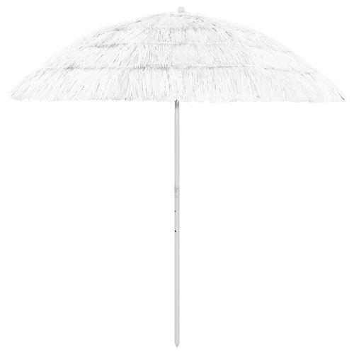 Parasol de plage 240 cm Blanc