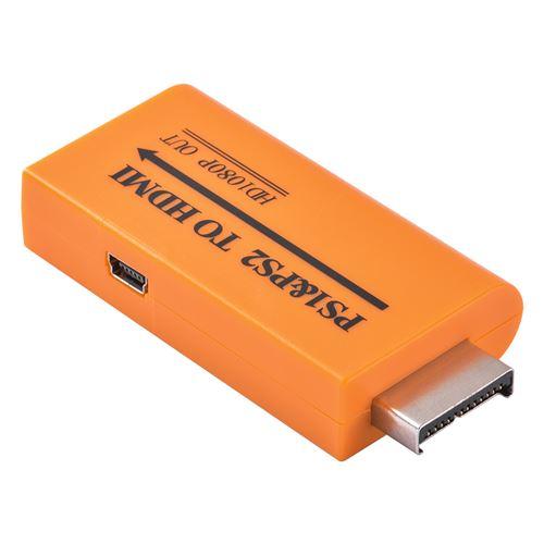 1080P HD PS1 / PS2 vers adaptateur convertisseur audio HDMI AC1972