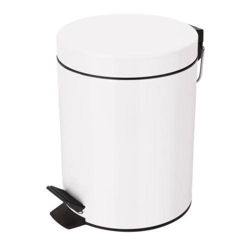 Sydney poubelle salle de bain 27x20,5x25,5cm blanc 10.16395