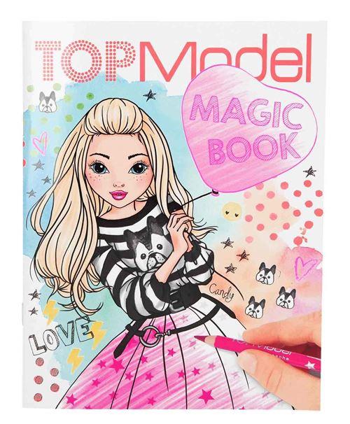 Depesche 10134 Livre de coloriage Magic Book Top Multicolore
