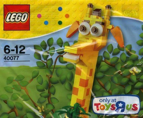 Lego 40077 Toys R Us Geoffrey New Sealed Poly Bag Exclusive