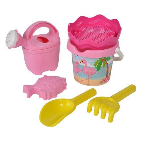 Simba Toys 107114405 - Ensemble de plage - Le bébé flamant rose