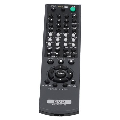 Télécommande pour Sony RMT-D159A, RMT-D186A, DVD RMT-D173A