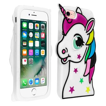 coque iphone 7 silicone licorne