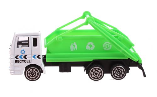 Free and Easy camion de recyclage vert 11 cm