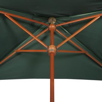 parasol vert bouteille