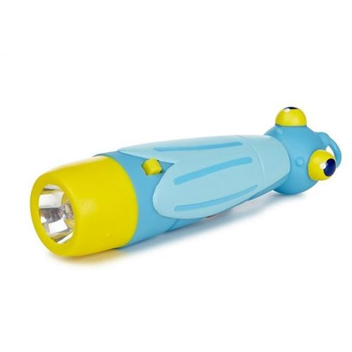 Lampe De Poche Garçon Bleu Lampe Torche 26 Cm Enfant 3 Ans +