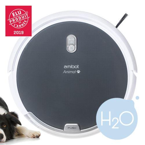 Robot aspirateur et laveur AMIBOT Animal Comfort H20