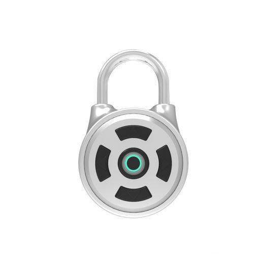 Bluetooth Padlock Approprié à La Maison Porte / Valise / Sac à Dos / Gym / Vélo / Bureau Argent Pl649